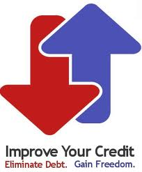 Improve your credit eliminate debt and gain freedom Picture
